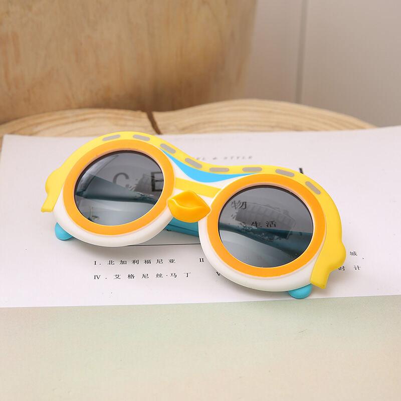 Trẻ Em Kính Râm Hoạt Hình Đáng Yêu Nam Nữ Trẻ Em Trẻ Em Bé Kính Râm Ánh Sáng Phân Cực Chống Tia UV Trẻ Con Kính Mắt Mốt Thời Thượng thumbnail