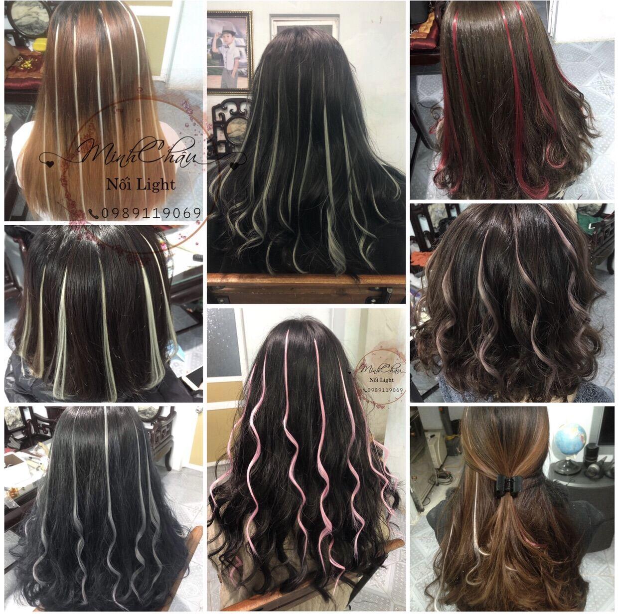[MUA 2 TẶNG 1 MUA 4 TẶNG 2] TÓC LIGHT NỐI GIÁ RẺ (1 lọn) chất liệu tơ nhân tạo giống tóc thật 98%