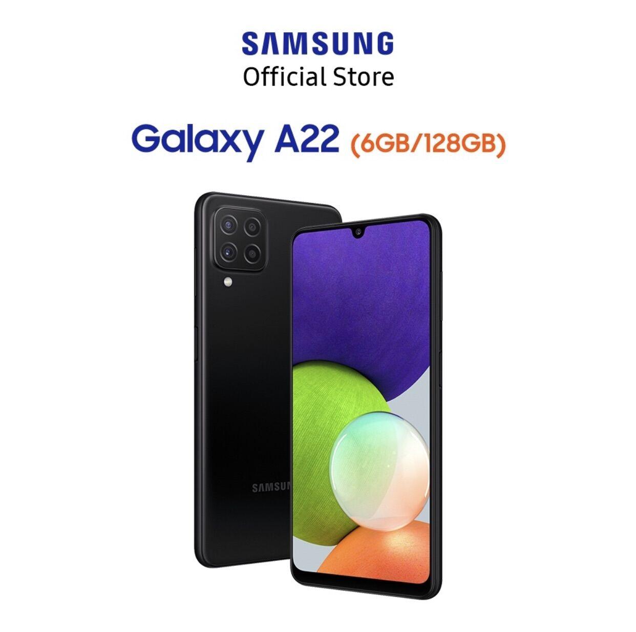 Điện thoại Samsung A22 (6gb/128gb) hàng chính hãng ,nguyên siu bảo hành 12 tháng