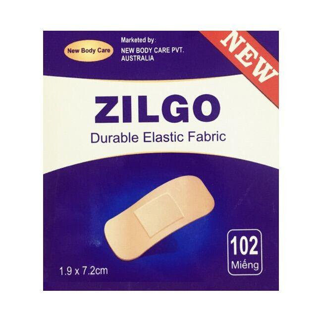 Băng dính cá nhân Zilgo 102 miếng - Dính chắc khi cử động , thông thoáng , mở băng không đau thumbnail
