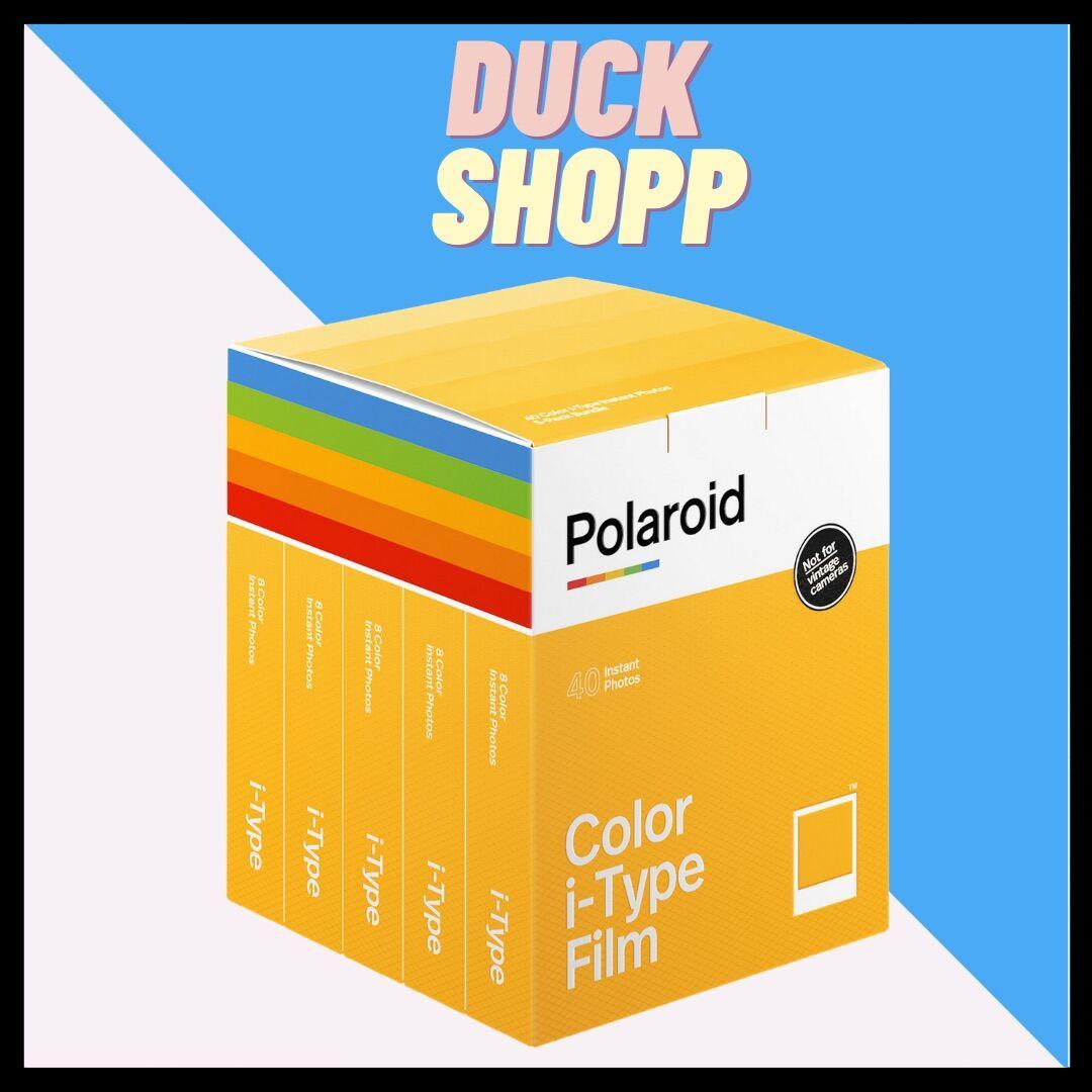 Polaroid I-type film - FIlm chụp ảnh lấy ngay Polaroid i-Type Chính hãng - Sản Xuất Hà Lan cho Now & One Step thumbnail