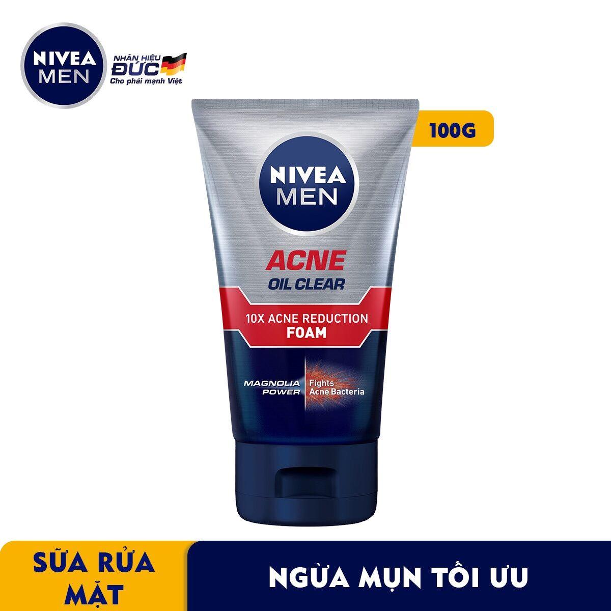Sữa rửa mặt Nivea sạch bã nhờn 100g giá rẻ