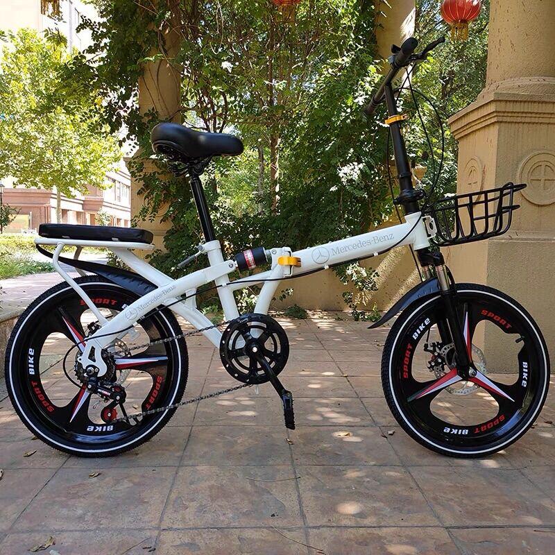 Mua Xe đạp gấp 20 icnh giảm xóc kép, phanh đĩa đôi. Xe đạp nam nữ tiện lợi