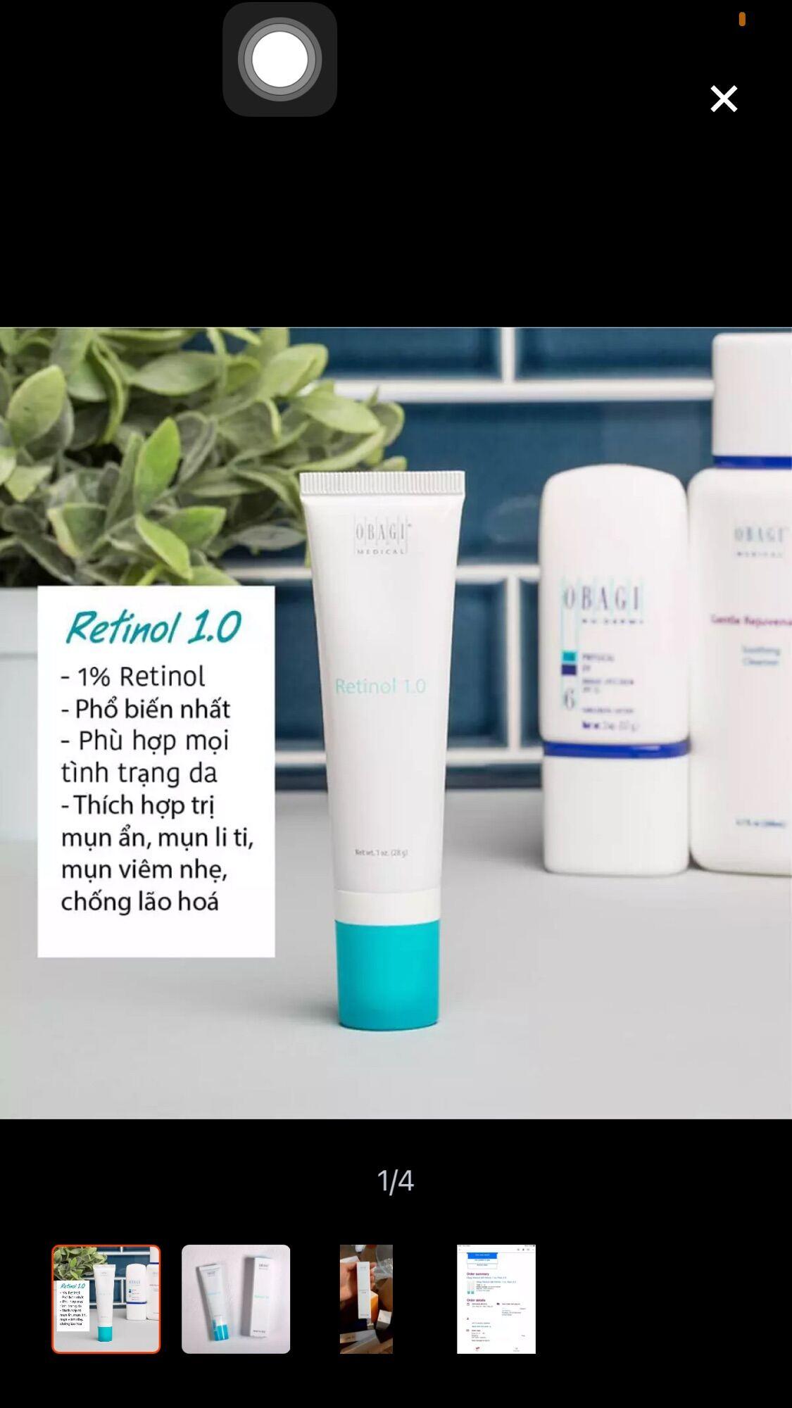 Kem dưỡng chống lão hoá retinol obagi 1.0( xách tay US - có bill) thumbnail