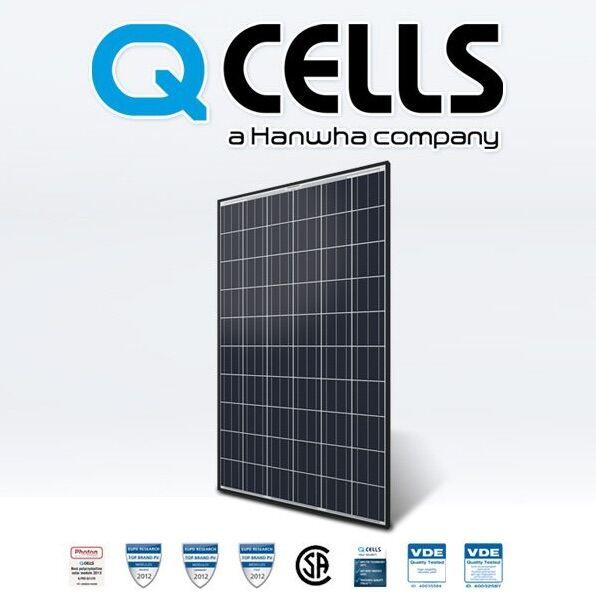 Tấm pin năng lượng mặt trời Qcell 400w