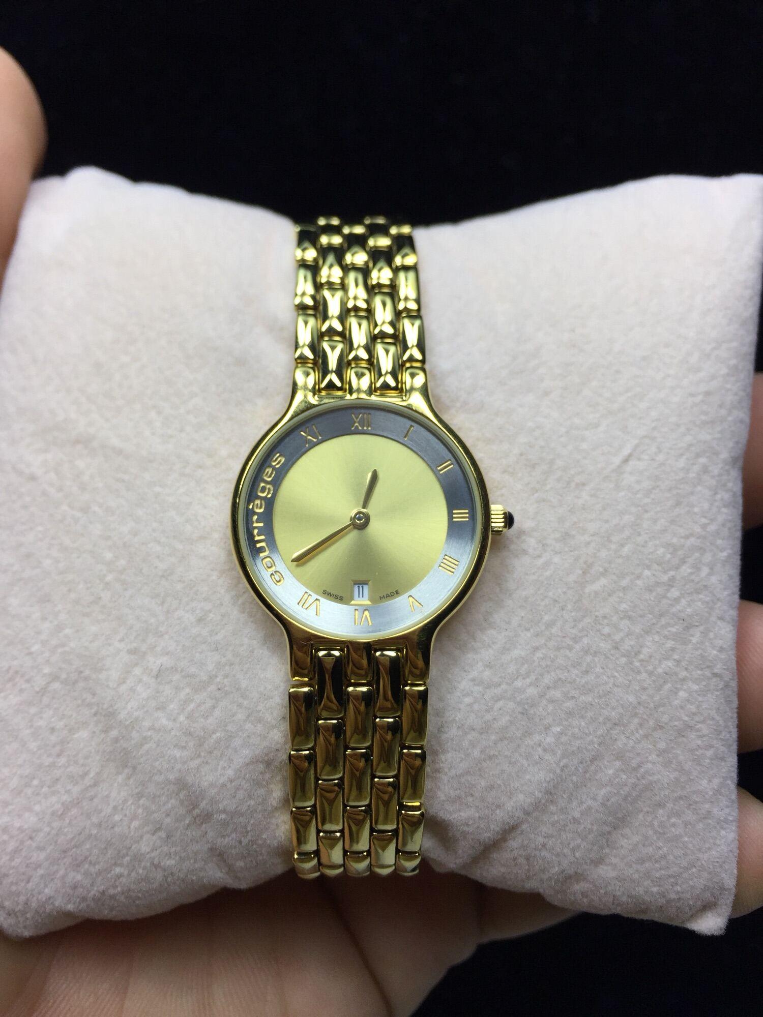 [HCM]Đồng hồ Si Nữ hiệu Courreges Pháp ( Swiss Made )