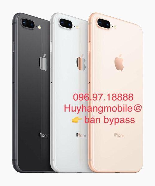 Máy Bypass Lắp sim được. Apple IPhone 8 Plus 64GB. Hàng chính hãng, like new đẹp 90-96%.