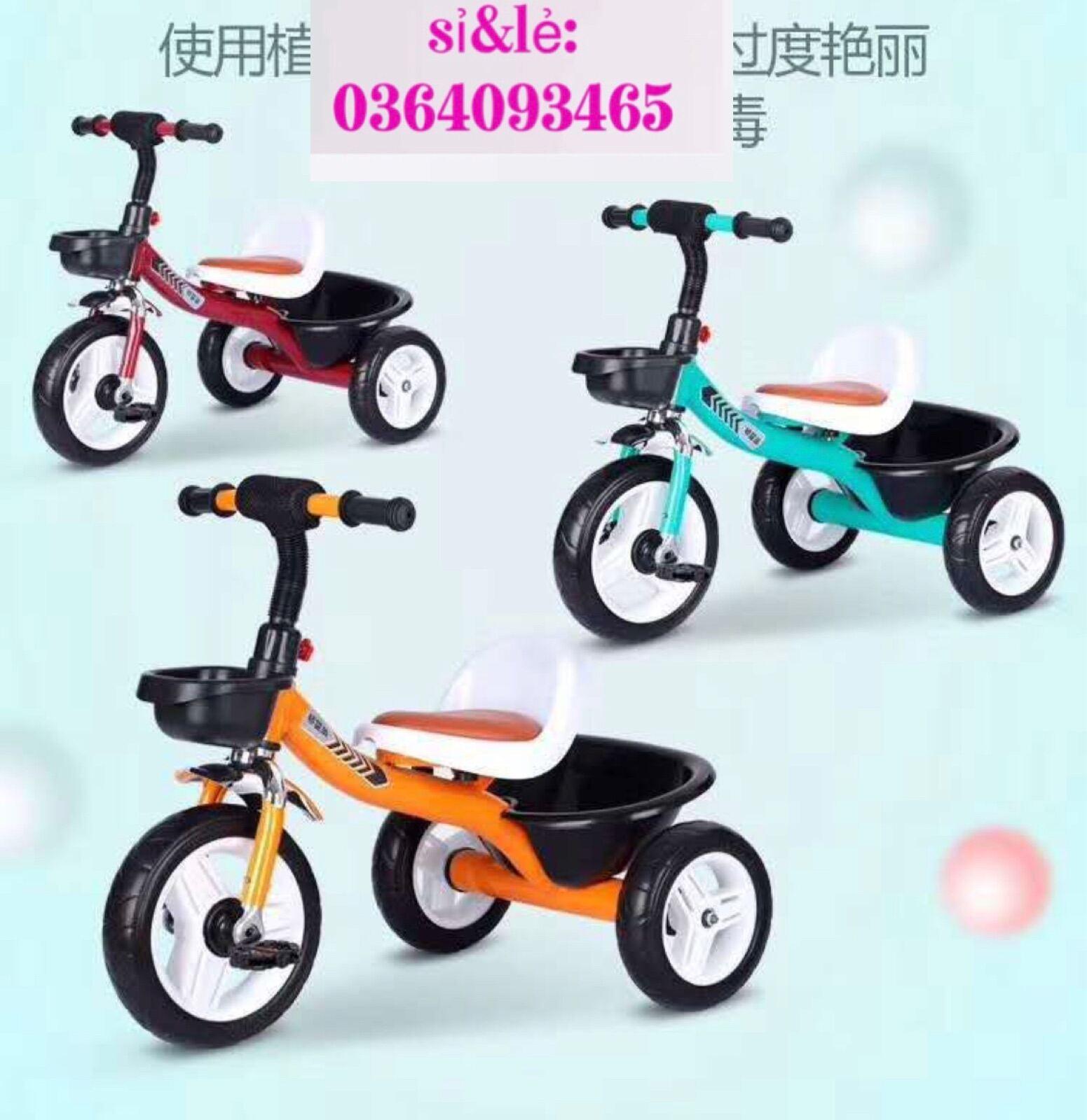 Mua Xe đạp 3 bánh yên bọc da cao cấp