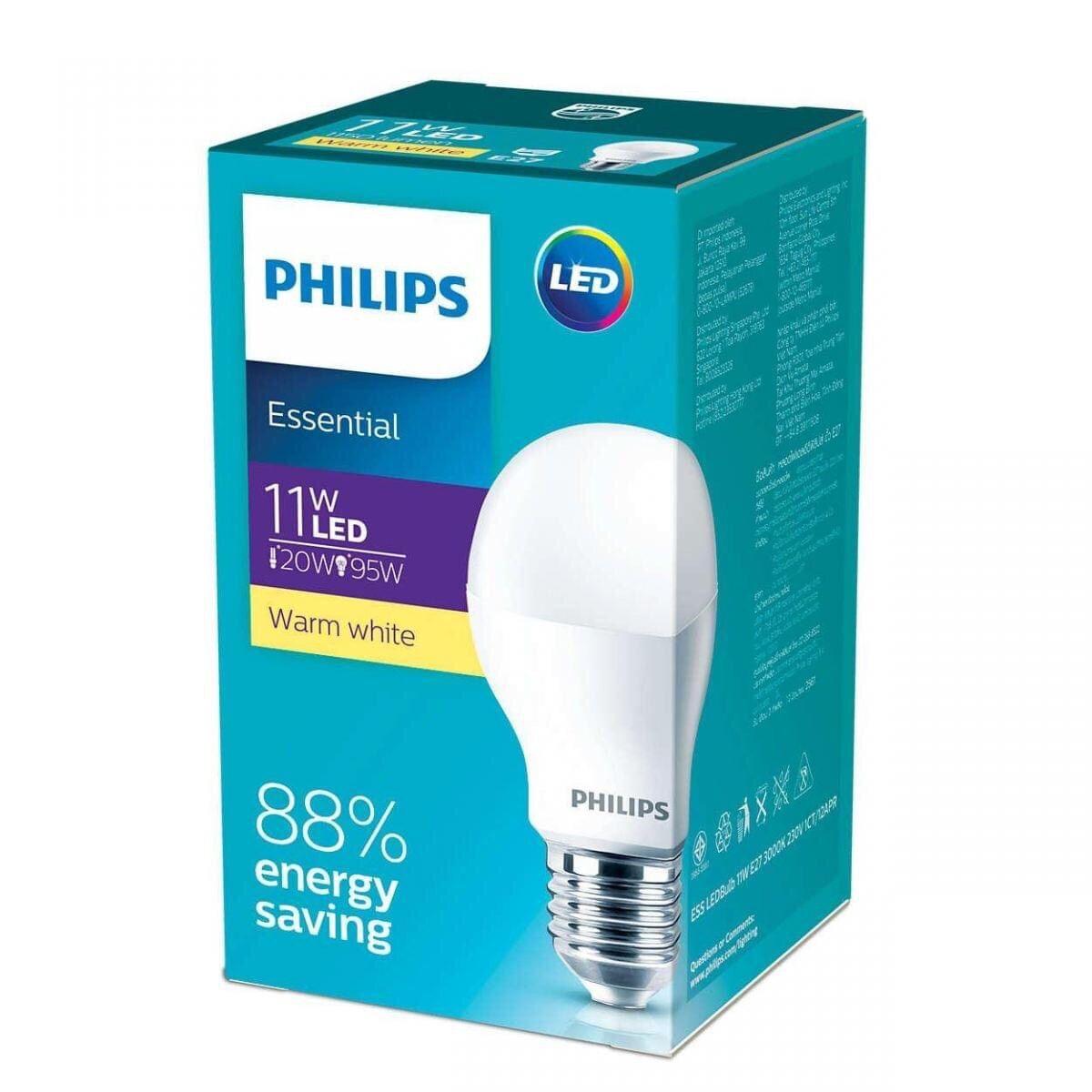 Bóng đèn LED Bulb Essential công suất 5w 7w 9w 11w 13w đui E27 loại rẻ tiền  Philips chính hãng 