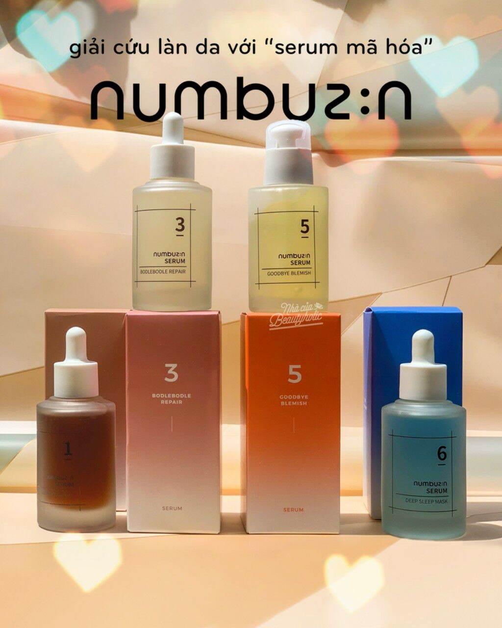 [HCM][Nhacuabeautyholic] Serum dưỡng da NUMBUZ:N ( NUMBUZIN)