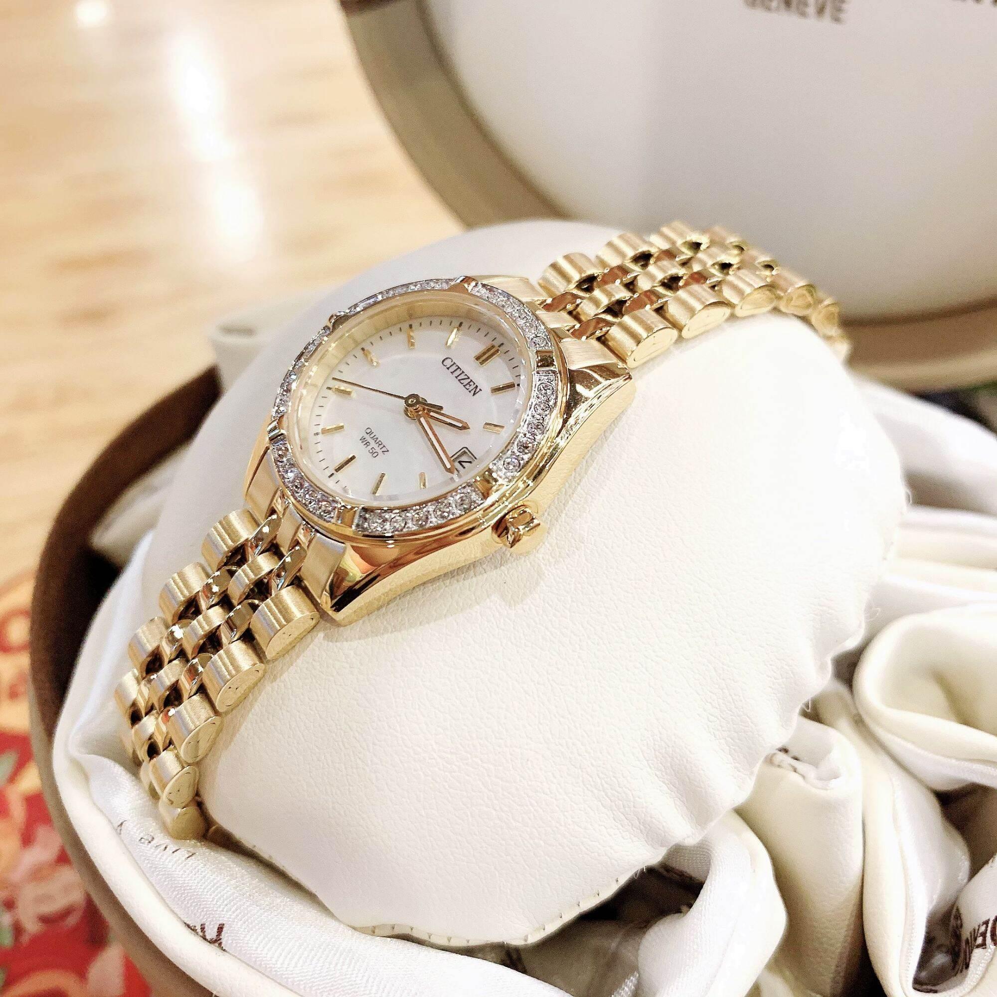 Đồng hồ thời trang nữ chính hãng Citizen For Lady EU6062-50D