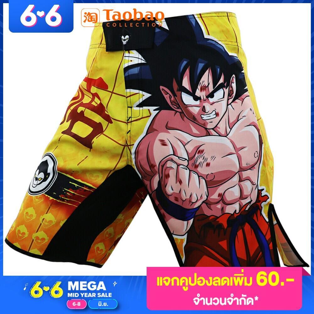MMA Fighting Thể Thao Người Saiyan Goku Quần Short UFC Võ Phối Hợp Đào Tạo Bãi Biển Tập Thể Dục Jiu-Jitsu Chạy Muay Thái thumbnail