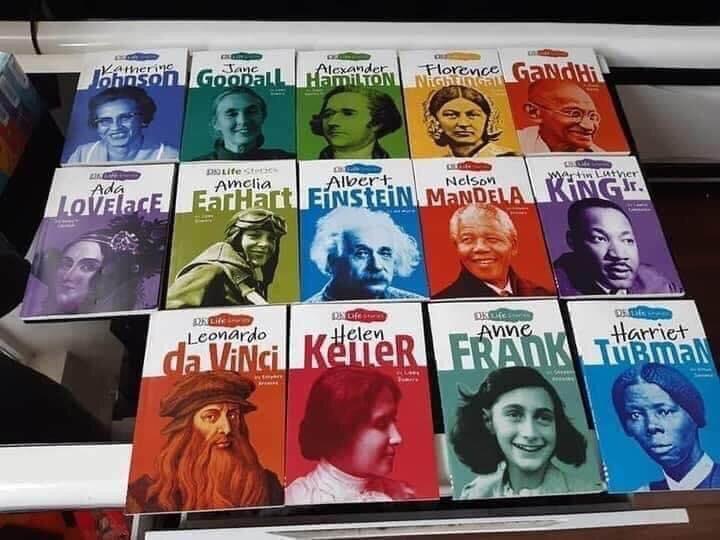 DK LIFE STORIES -Câu chuyện cuộc đời của các vĩ nhân - Trọn bộ 15 cuốn