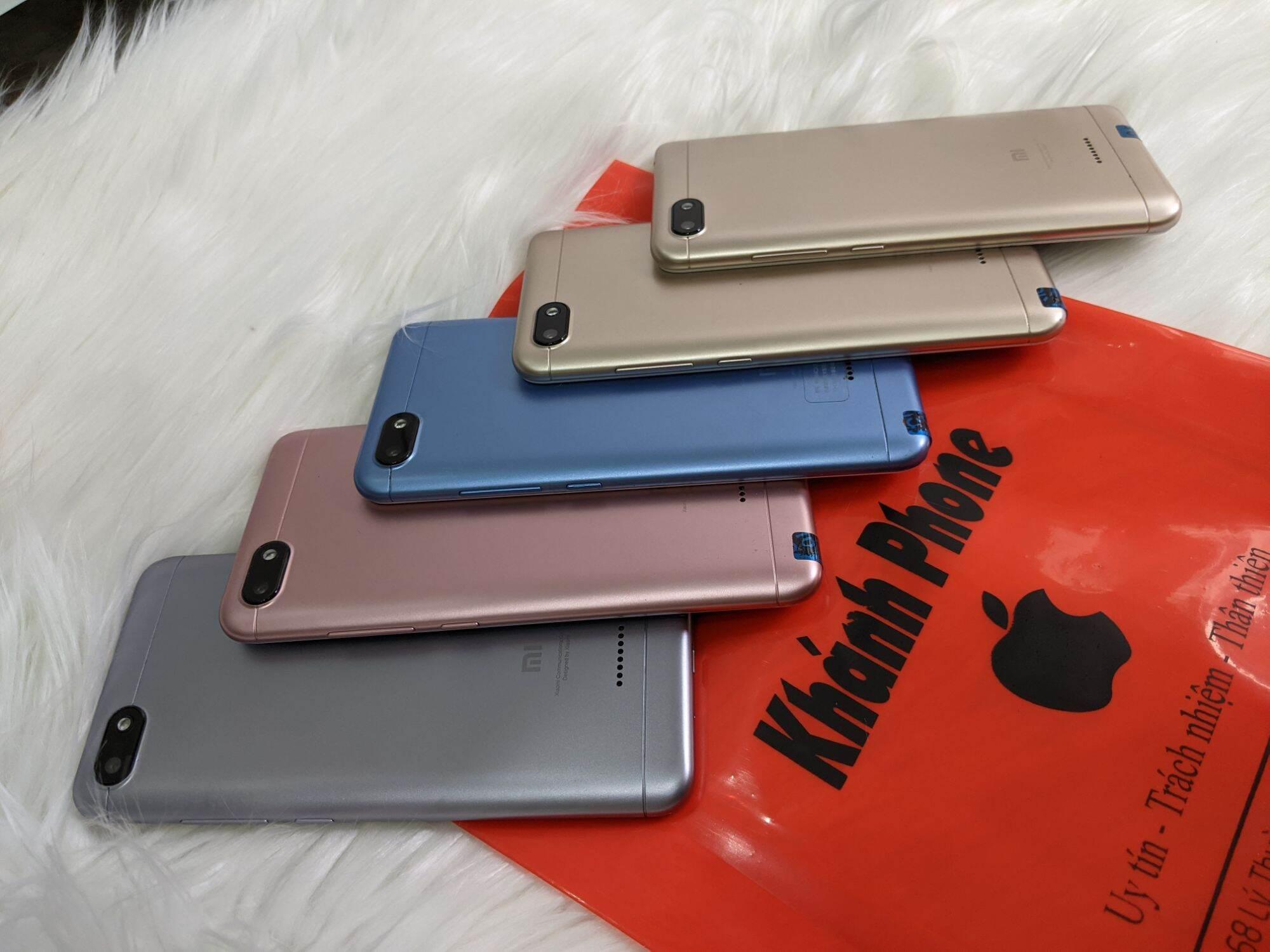 Xiaomi 6a máy đẹp pin khoẻ 2sim chơi game học online tốt BH 6 Tháng