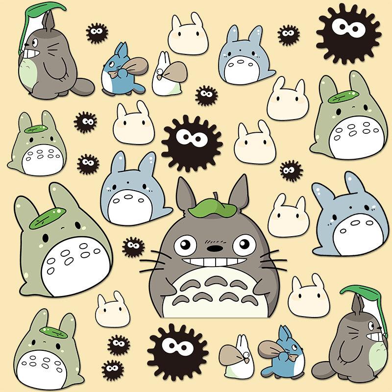 Anime Nhật Bản Hayao Miyazaki Mèo GiấY Dán Valy Hành Lý Sổ Tay Điện Thoại Máy Tính Bảng Cốc Giữ Nhiệt Dán Tranh Chống Nước thumbnail