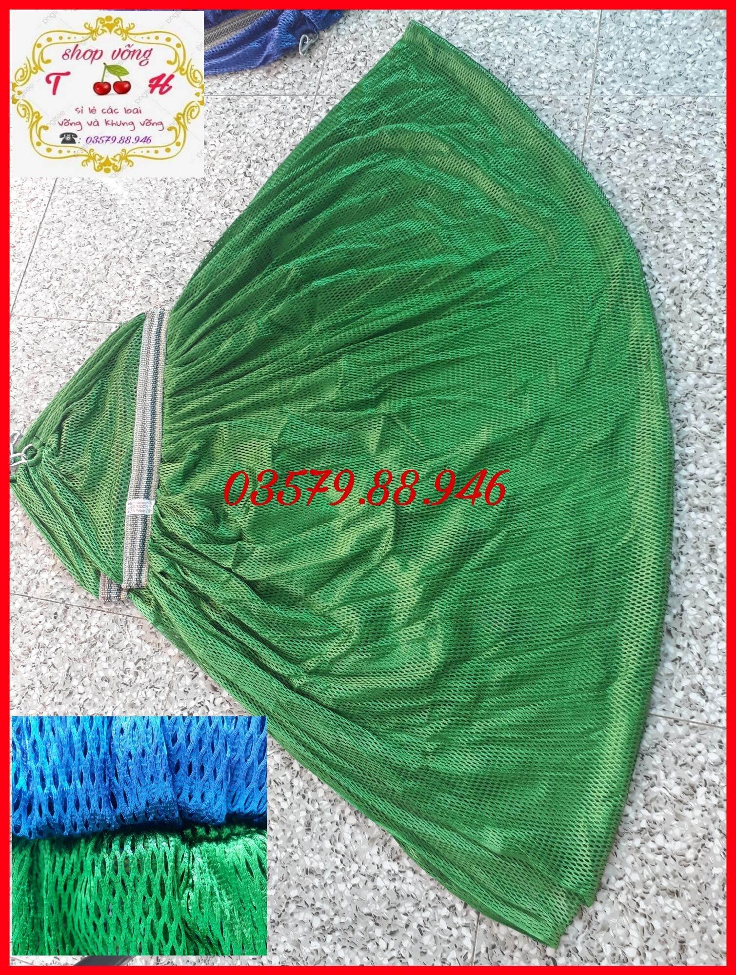 (sale) Võng lưới cán thép 2 lớp loại tốt, đầu cán 50cm thumbnail