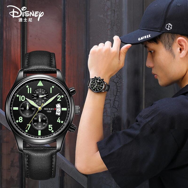 Nơi bán Học Sinh Trung Học Nam Trẻ Trung Disney Đồng Hồ Đeo Tay Đầu Năm 2021 Mẫu Mới Phổ Thông Trung Học Con Trai Ngầu Máy Móc Thịnh Hành Chống Nước