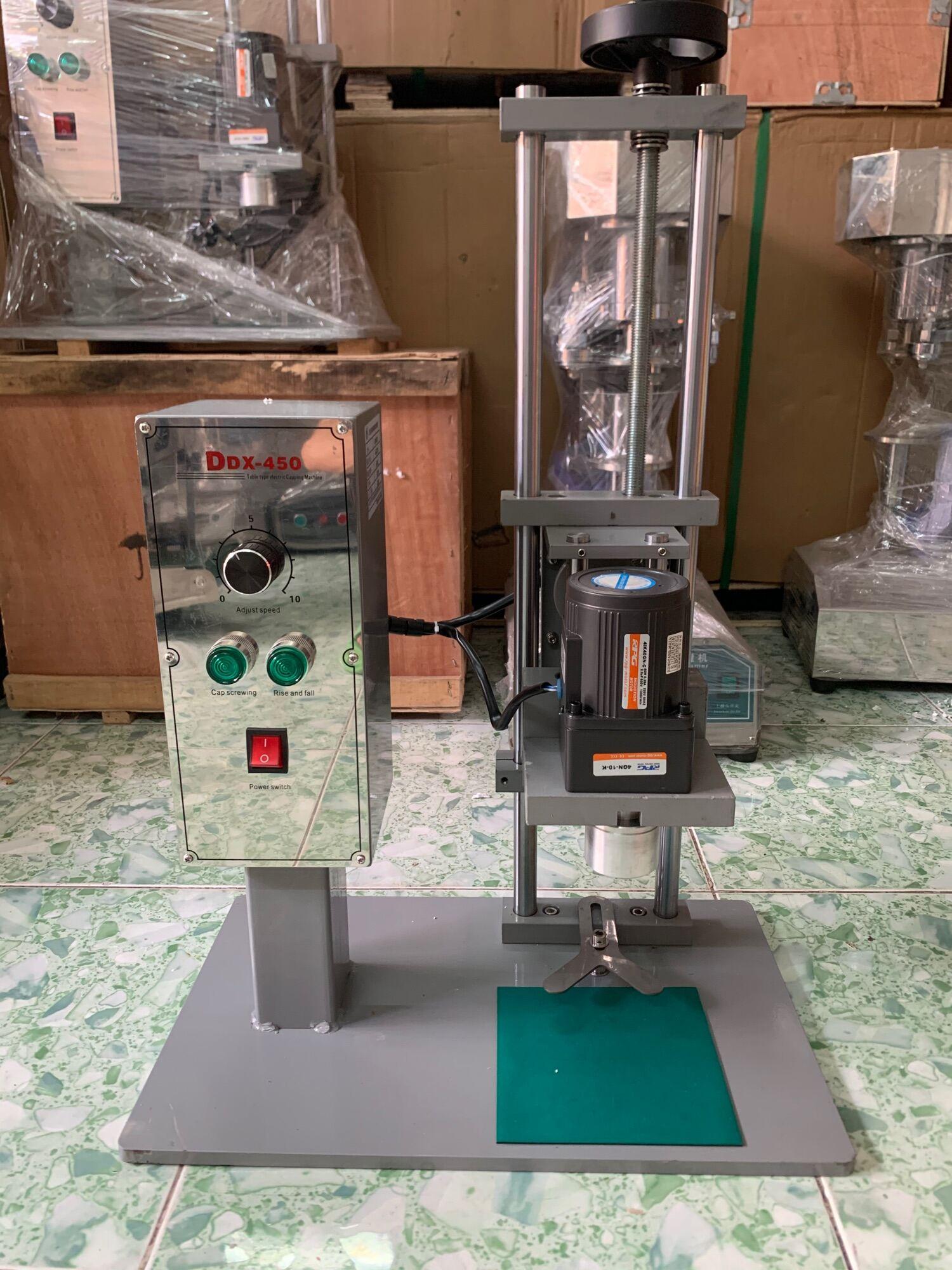 [HCM]Máy vặn nắp chai DDX 450