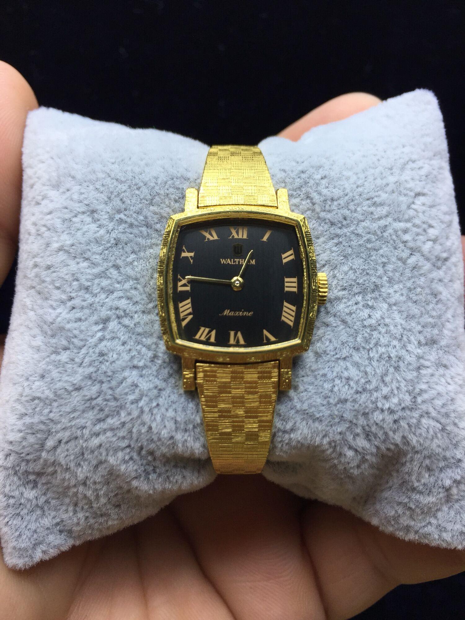 Đồng hồ Si Nữ siêu phẩm cơ cót Waltham cổ điển, sang trọng Thụy Sĩ🇨🇭