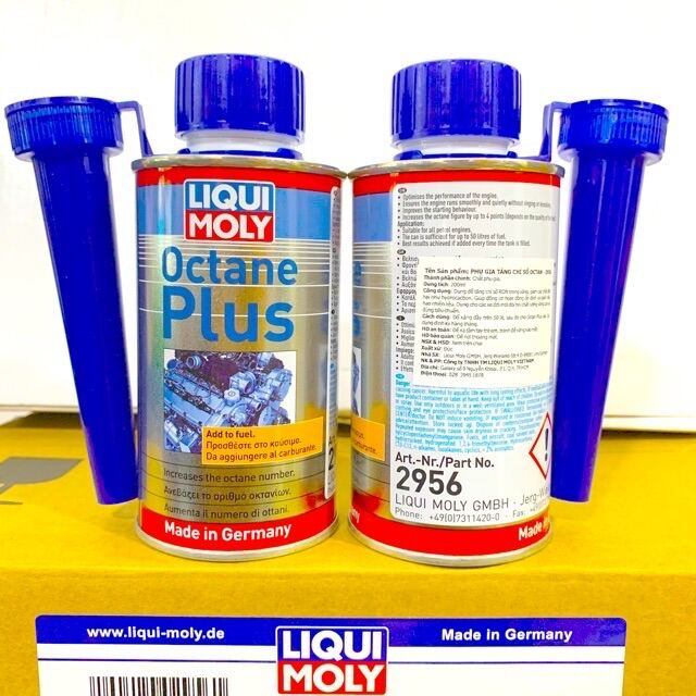 Phụ Gia Xăng Tăng OCTAN - LIQUI MOLY OCTANE PLUS 150ML - 2956 Made in Germany