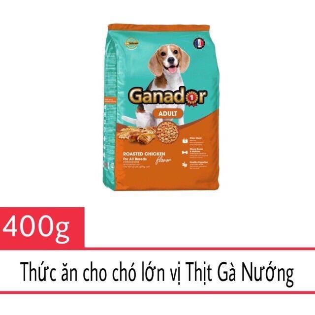 Thức ăn cho chó trưởng thành VỊ GÀ NƯỚNG - Ganador Adult Roasted Chicken Gói 400g Pháp