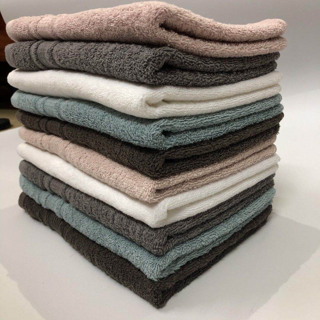 [ XẢ LỖI DỆT ] Khăn cotton Xuất khẩu 40x80 (120gr - 200gr), Khăn Lỗi dệt nhỏ, Hàng Việt Nam xuất khẩu dày dặn, thấm hút tốt.