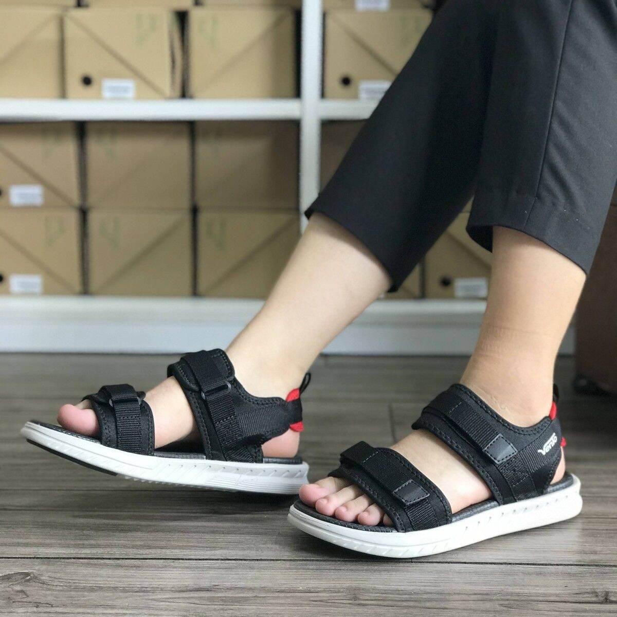 Sandal nữ Vento đế nhẹ bền đẹp NB81 đen xanh be thumbnail