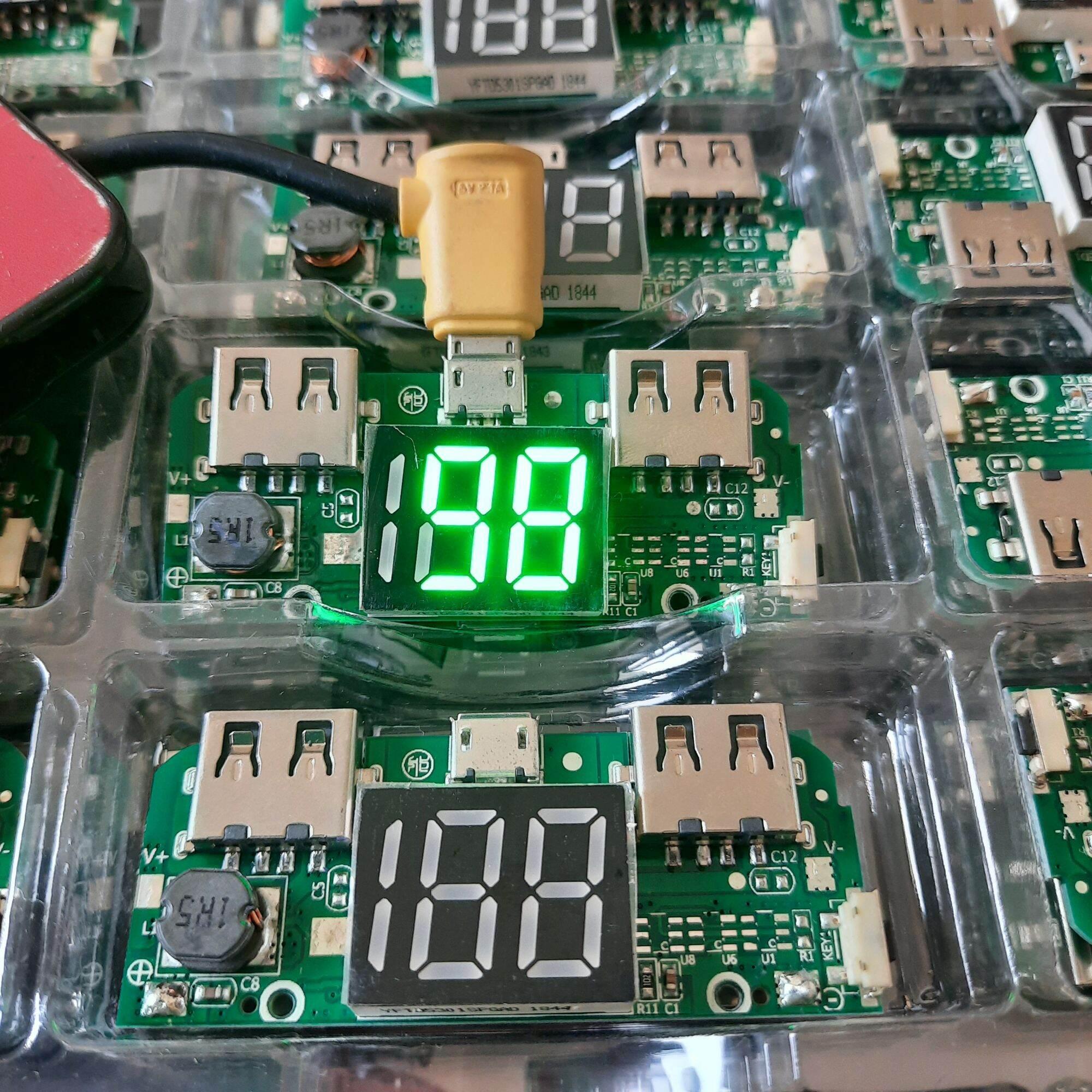 Bảng giá mạch sạc pin dự phòng 5v/2A có màn hình