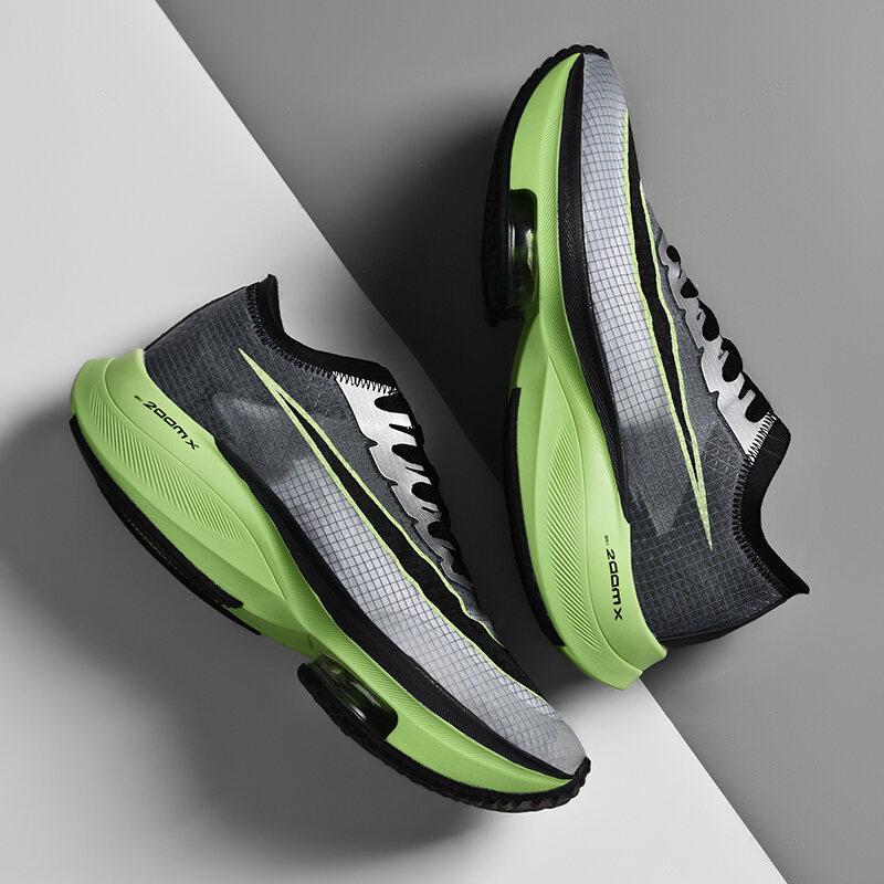 Giày Nam Rách 2 Giày Thể Thao Trang Web Chính Thức Phủ Điền Marathon Giày Chạy Bộ Rách 2 Mặt Lưới Pegasus Giày Chạy Đệm Khí Uyên Ương Nam 6