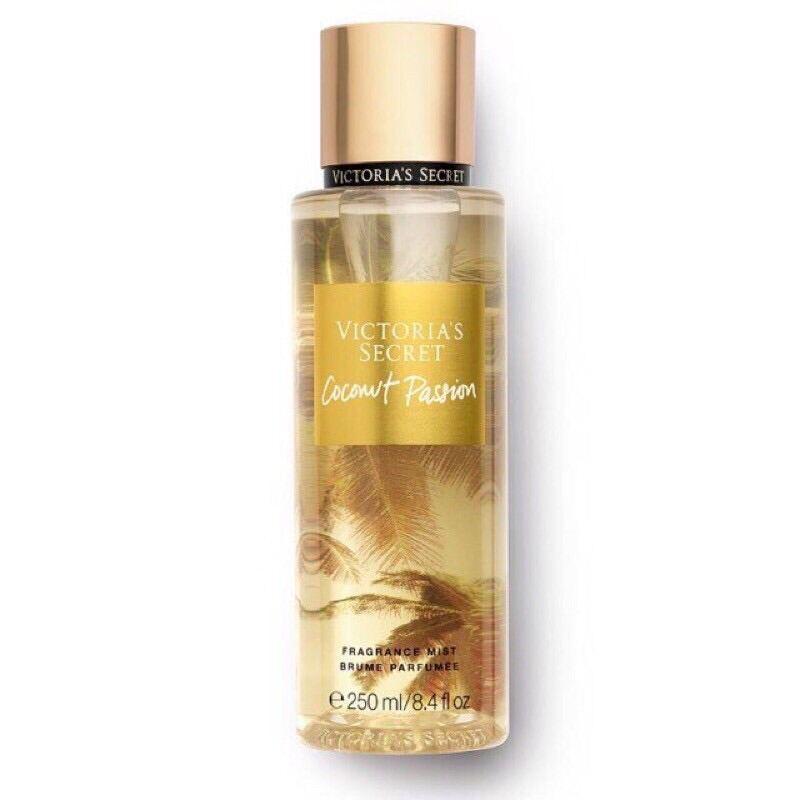 [HCM]Xịt Thơm Toàn Thân Victorias Secret Coconut Passion Fragrance Mist 250ml