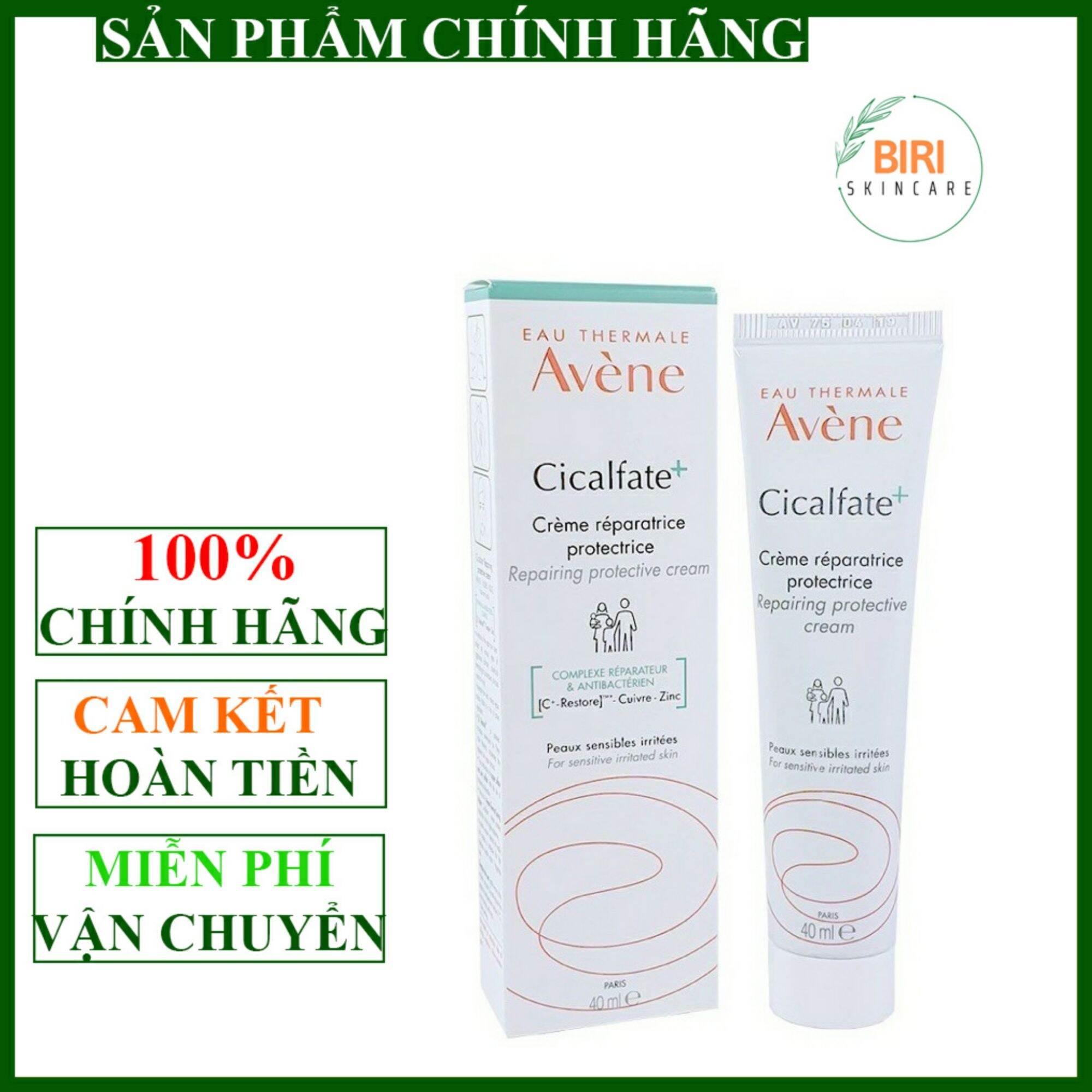 [Avene] Kem phục hồi Avene Cicalfate, làm lành sẹo và cấp ẩm cho da Avene Cicalfate Restorative Skin Cream 40ml