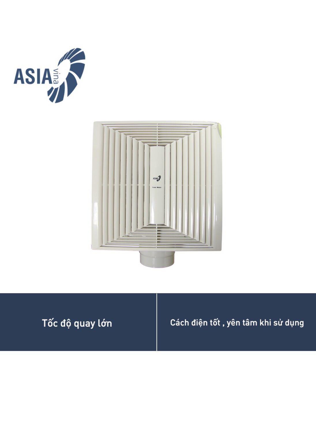 Quạt thông gió asia V04001-công suất 45w-lượng gió3,1m3/phút-vòng quay mỗi phút 1200