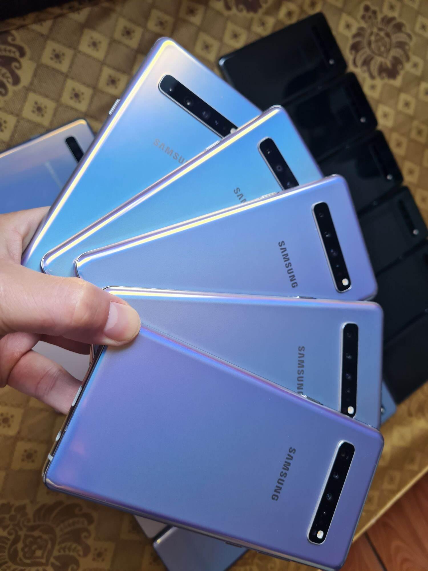 Samsung S10 5G màu đa sắc cực đẹp ram 8/256g pin 4500mah