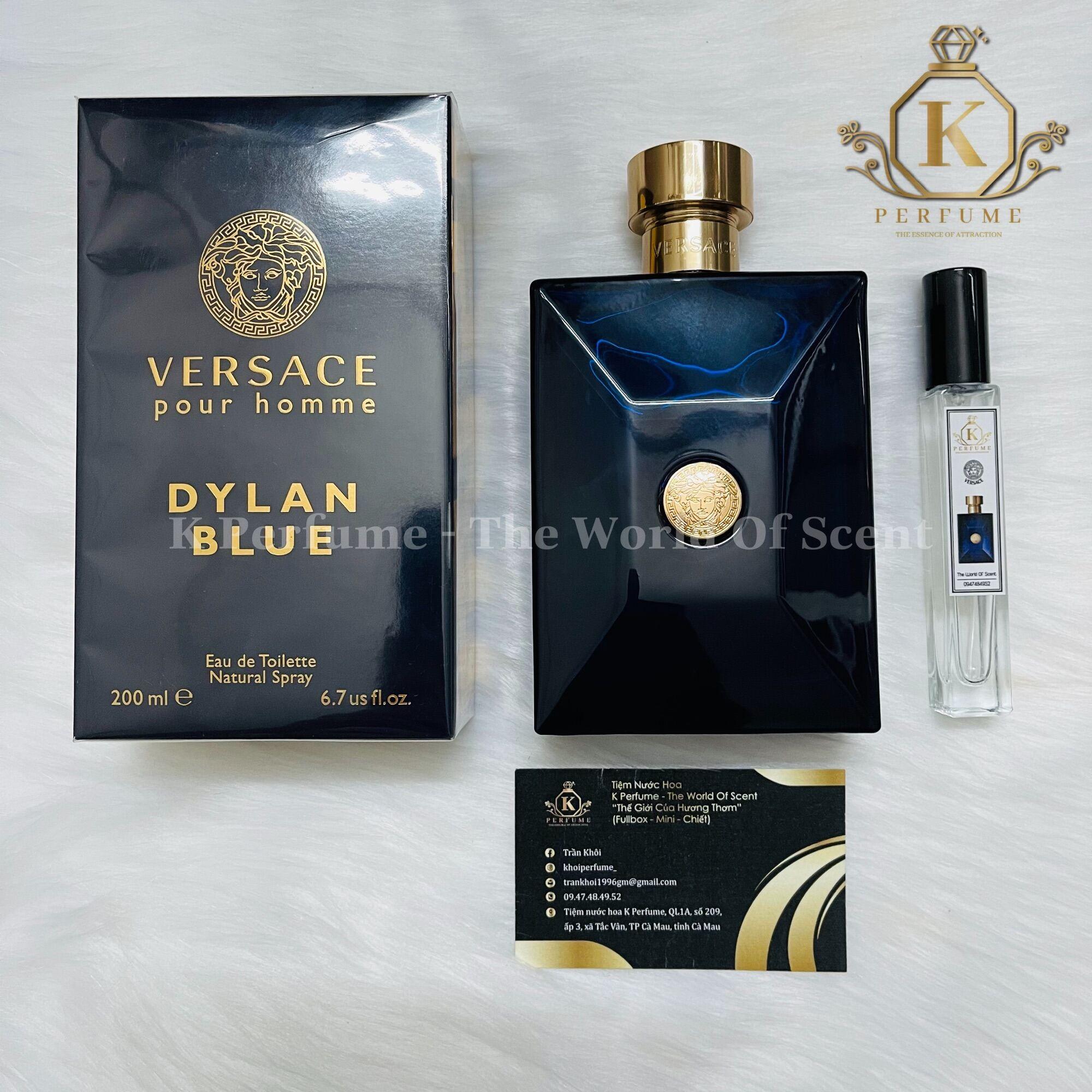 [K-Perfume Chính Hãng] Nước Hoa Nam Chiết 5ml 10ml 20ml - Versace Pour Homme Dylan Blue