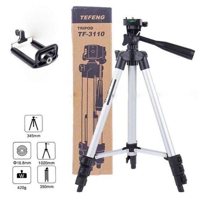 Giá đỡ 3 chân đế chụp hình điện thoại máy ảnh Tripod 3110