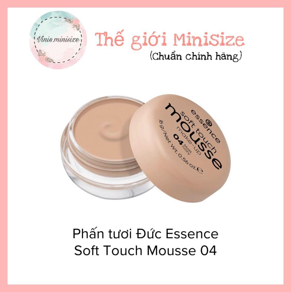 Phấn tươi Đức Essence Soft Touch Mousse 04 Vinie.minisize thumbnail