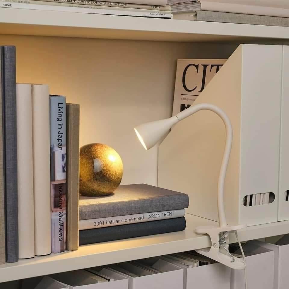 IKEA Đèn LED kẹp đọc sách