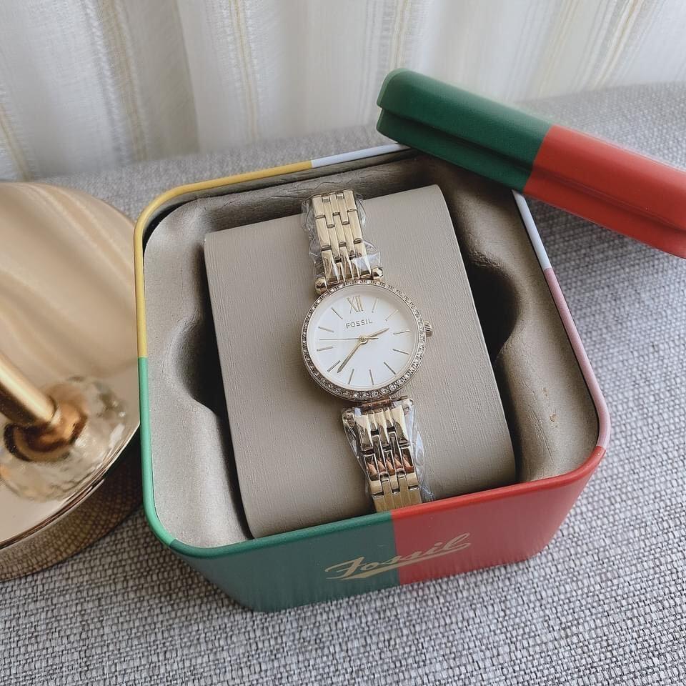 [HCM][AUTH] Đồng hồ nữ BQ3503 Fossil Tillie Mini Watch