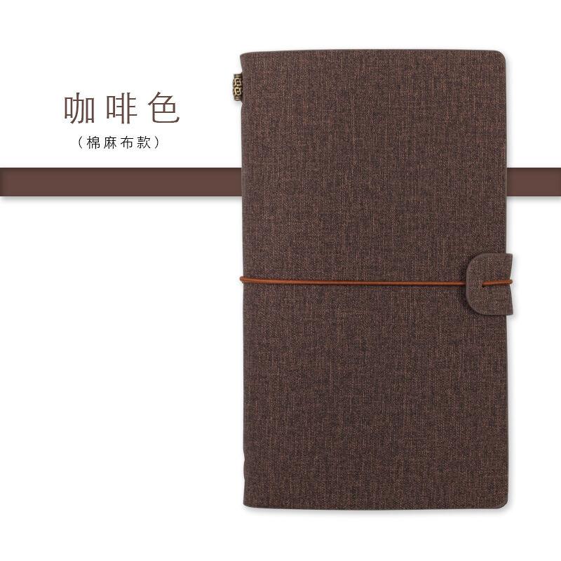 Sổ Ghi Nhớ Đặt Riêng Logo Sổ Nhật Kí Thương Vụ Sáng Tạo Trang Rời Máy Tính Xách Tay Máy Tính Xách Tay Phục Cổ Tay Cuốn Sách Tay Phụ Nữ Sổ A6