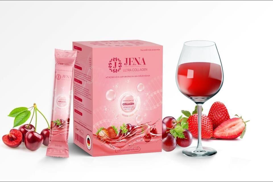 Jena Ultra White (Cốm nước uống bổ sung Collagen trắng sáng da) thumbnail