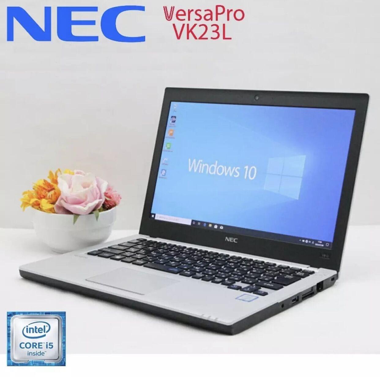 [Trả góp 0%]Laptop Nhật Bản NEC Versapro VK23L G Core i5-6200U 4gb Ram 128gb SSD 12.7inch Full HD vỏ siêu cứng thumbnail
