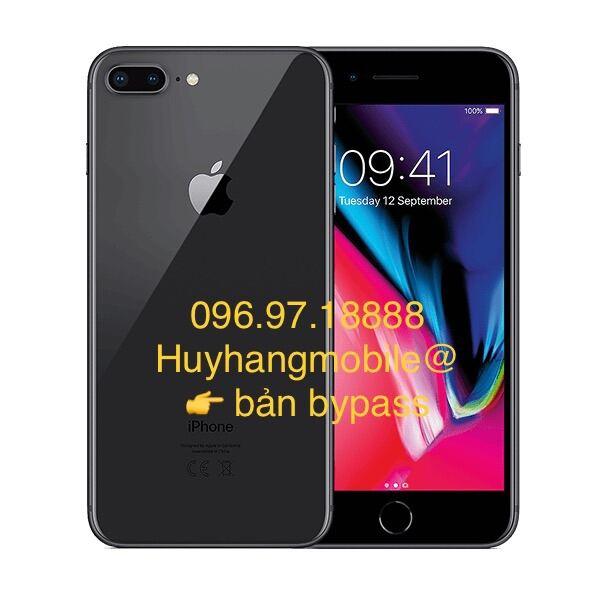 Bản bypass dùng được sim. Apple IPhone 8 Plus 64GB. Hàng chính hãng, like new đẹp 90-96%.