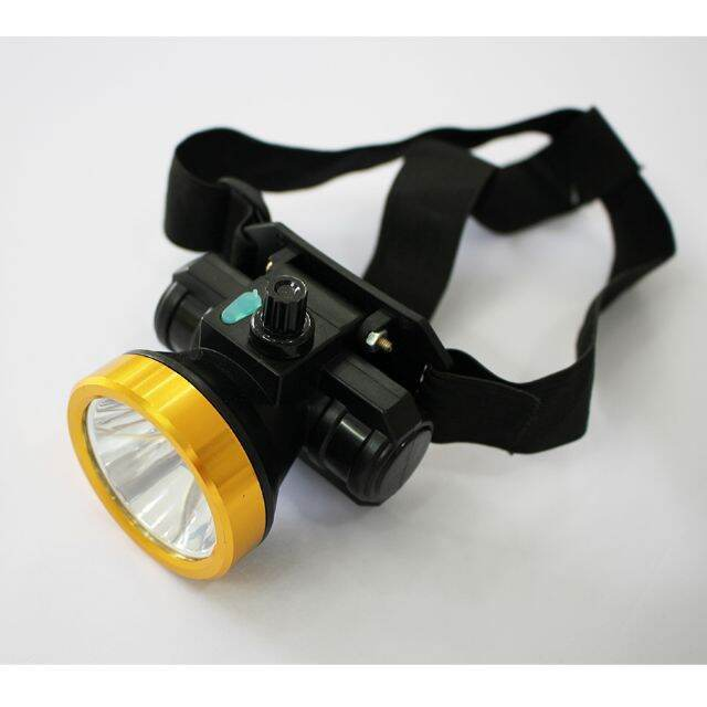 Đèn pin đội đầu A4 Goldlion 30w siêu sáng tiện lợi tặng kèm dây và nguồn sạc