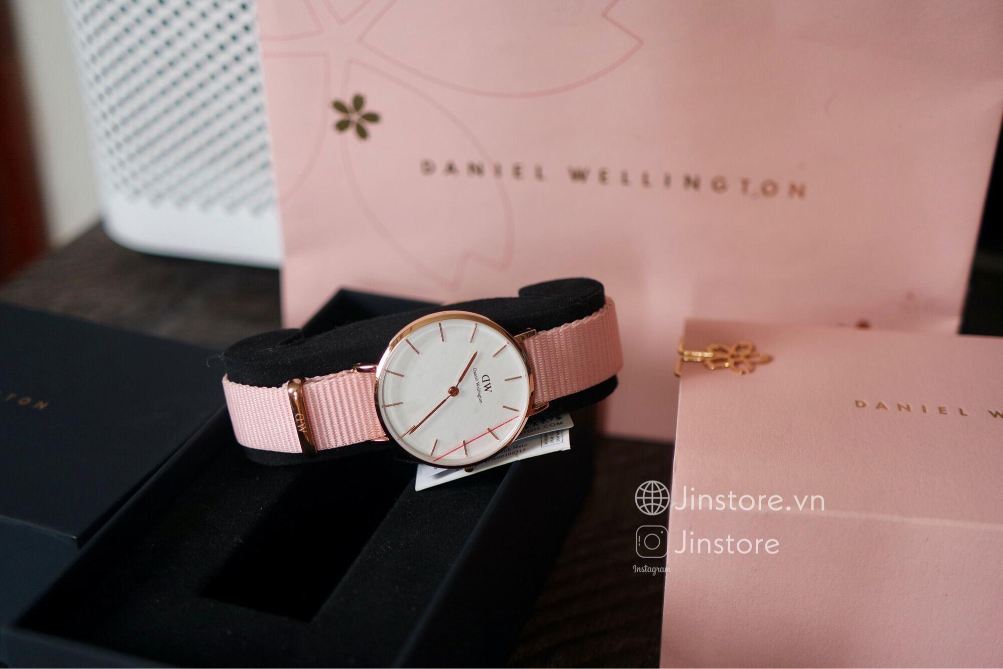Đồng hồ nữ DW Petite Rosewater 32 RG - DW00100317