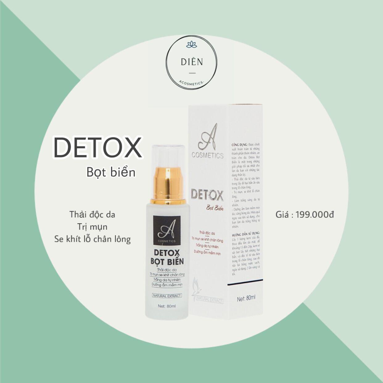 Detox Bọt Biển Acosmetics - Thải độc, tẩy trang, trị mụn , dưỡng trắng da thumbnail